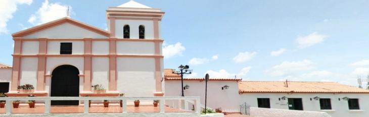 Iglesia Santa Rosalía Banner