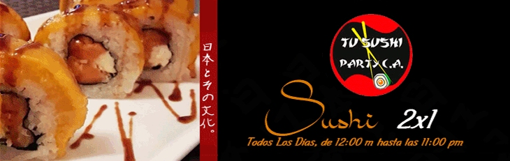 Tu Sushi Party Banner