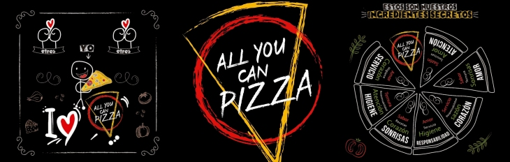 All You Can Pizza Banner